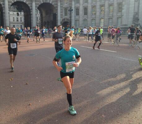 Penny in marathon 3