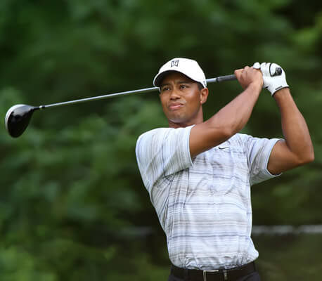 tiger woods and chirorpractic