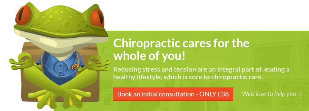 Chiropractic cares for the whole of you!