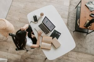 desk posture